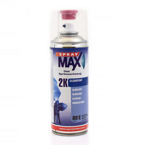 Bra Spraymax 2K Klarlack blank - Lackfärg, Sprayfärg - Lackzon WE-26