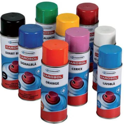 Sprayfärg | Till maskiner, verktyg m.m. | Hagmans | Jula